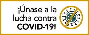Unase a la lucha contra covid-19 en espanol